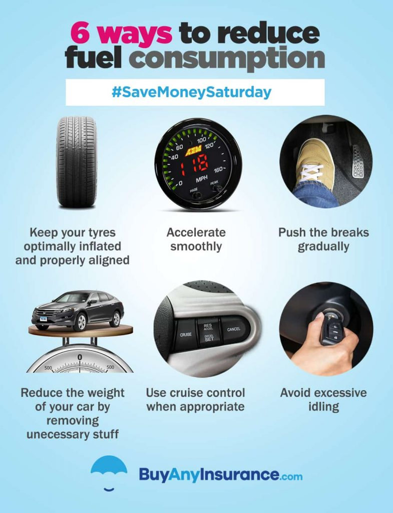 6 ways to reduce fuel consumption