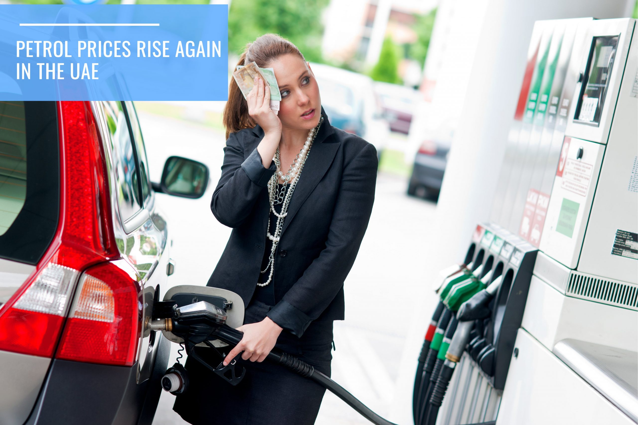 Petrol prices go up in May
