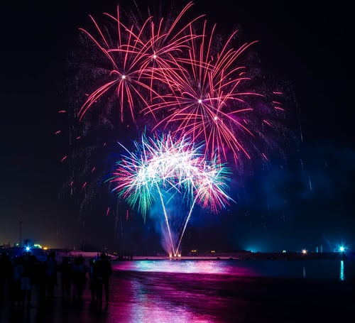 The Spectacular Fireworks