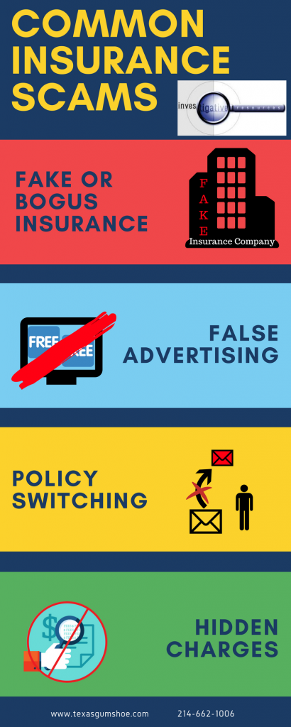 The different kinds of insurance seller scams.