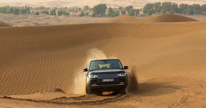 تأمين السيارات أونلاين-الطرق الوعرة في دبي