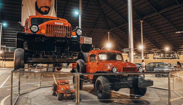 متحف الإمارات الوطني للسيارات – الصورة من موقع