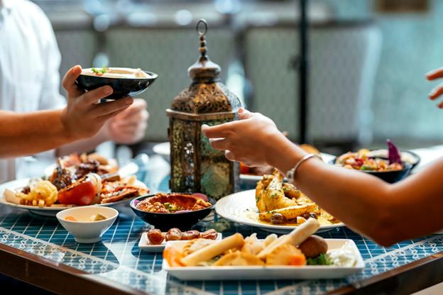 dinner during ramadan