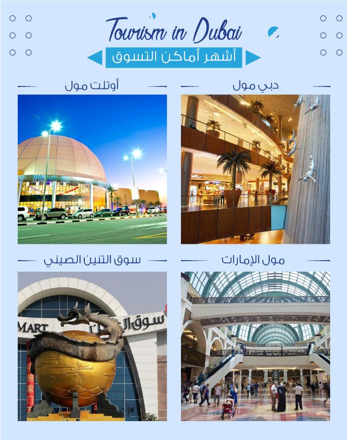 السياحة في دبي والتسوق